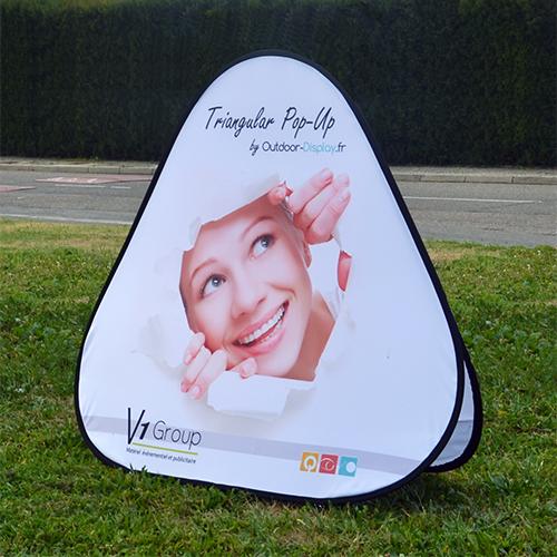 Pop Up Triangular