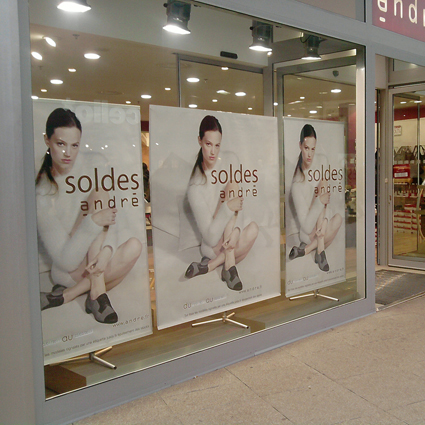 kakemonos sprint publicitaire personnalisable Outdoor Display
