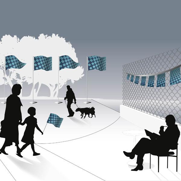 Gamme Event - Pavoisement Gurlandes et pavillons publicitaires Oudoor Display